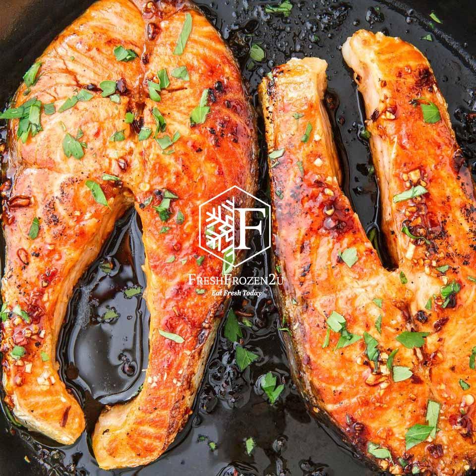 Fish Salmon Atlantic Steak (1.3 kg) 三文鱼排