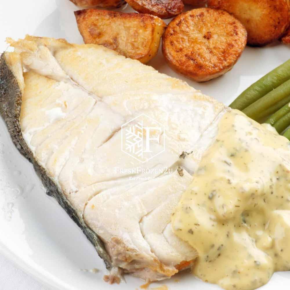 Fish Halibut Portion (500 g) 比目鱼片(厚切)