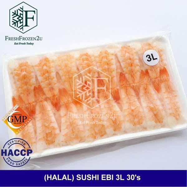 Sushi Ebi (30pcs)