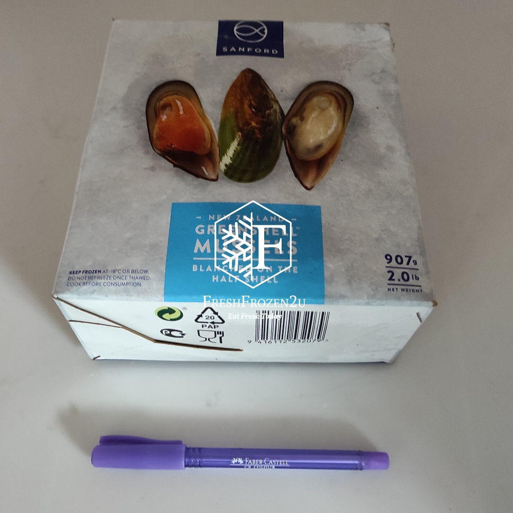 Green Mussel (Half Shell) (900 g)
