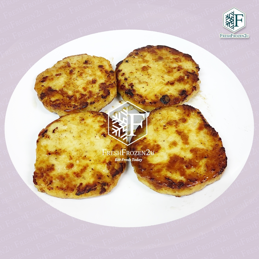 Patty Burger Meat Chicken (4 pcs) (300 g)