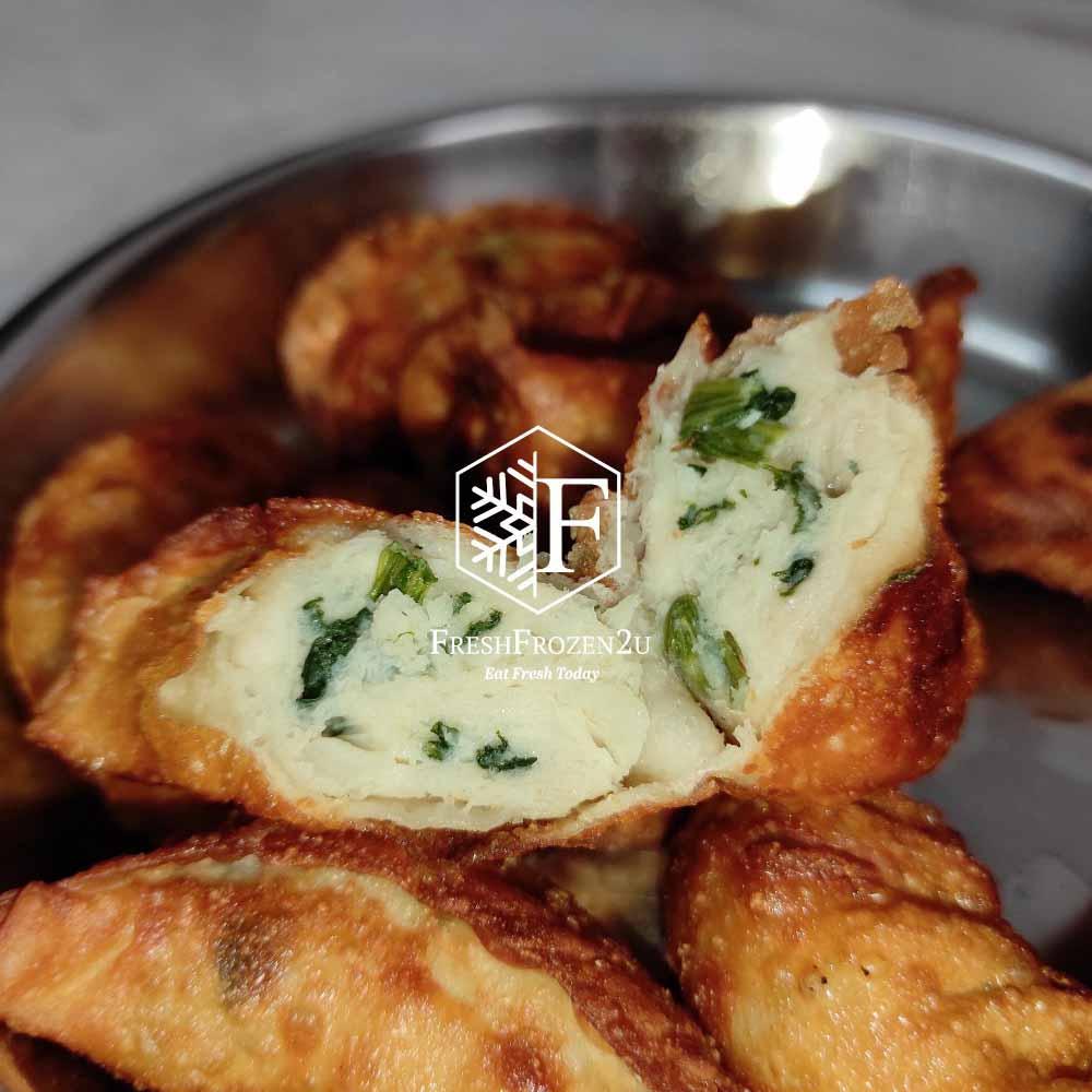 Dumpling Gyoza Chicken Spinach (10 pcs)  餃子(鸡肉菠菜)