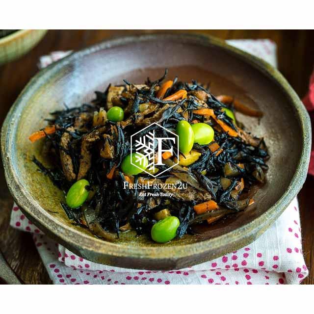 Seaweed Hijiki Salad with Edamame (500 g)