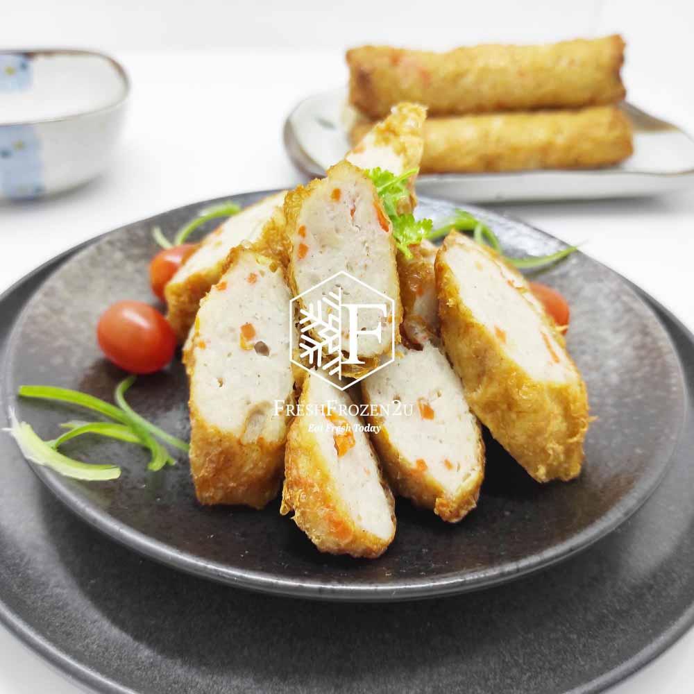 Dumpling Bean Curd Roll Chicken Carrot (4 pcs) (320 g)