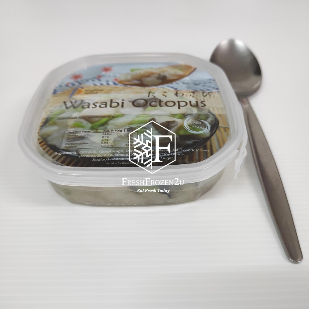 Ready-to-Eat Wasabi Octopus (150 g)