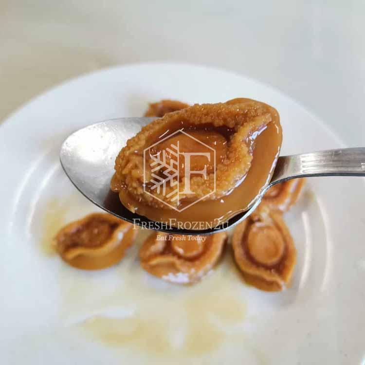 Braised Abalone (10's) 红烧汁鲍鱼(10头)