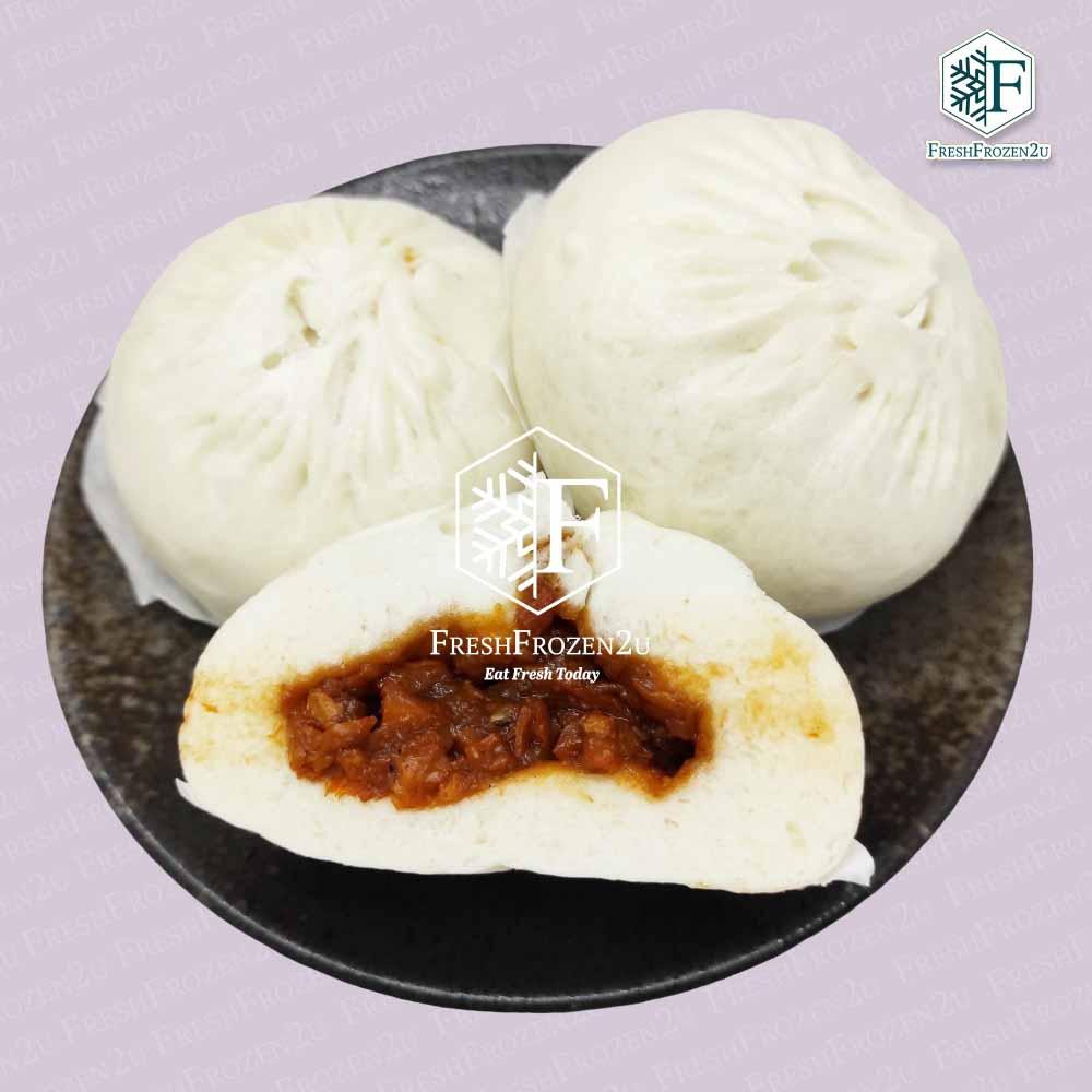 Baozi Chicken BBQ 叉烧鸡肉包 (2 pcs)