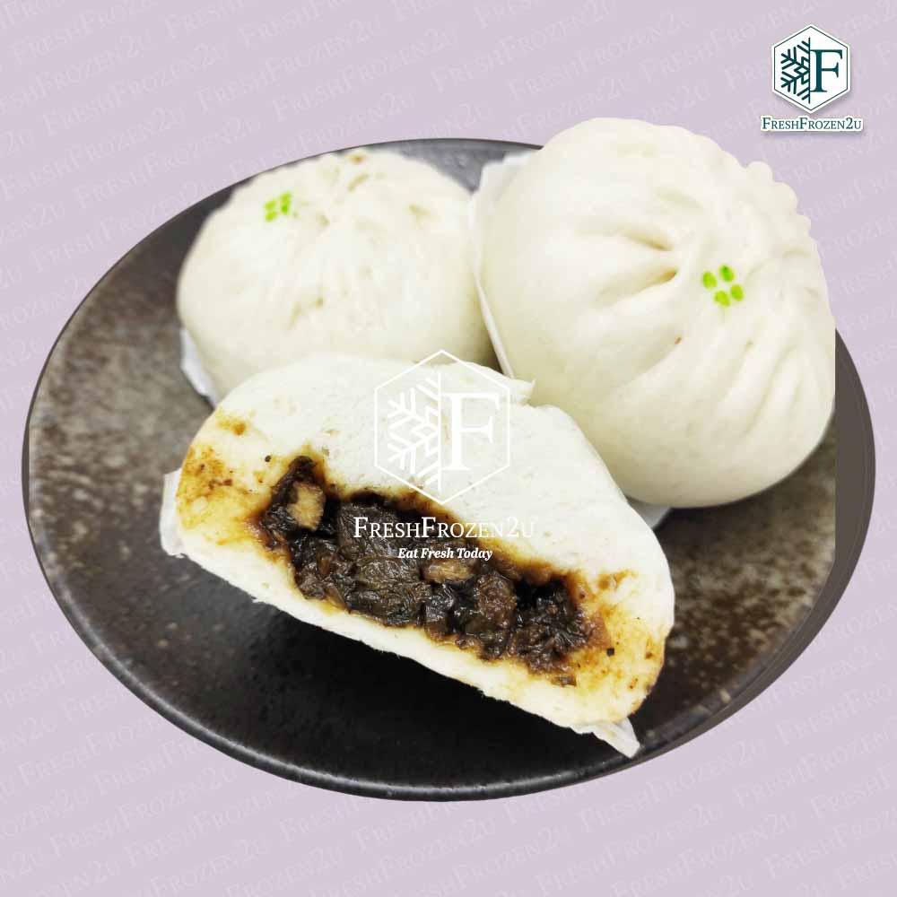 Baozi Chicken Mui Choy 梅菜鸡肉包 (2 pcs)