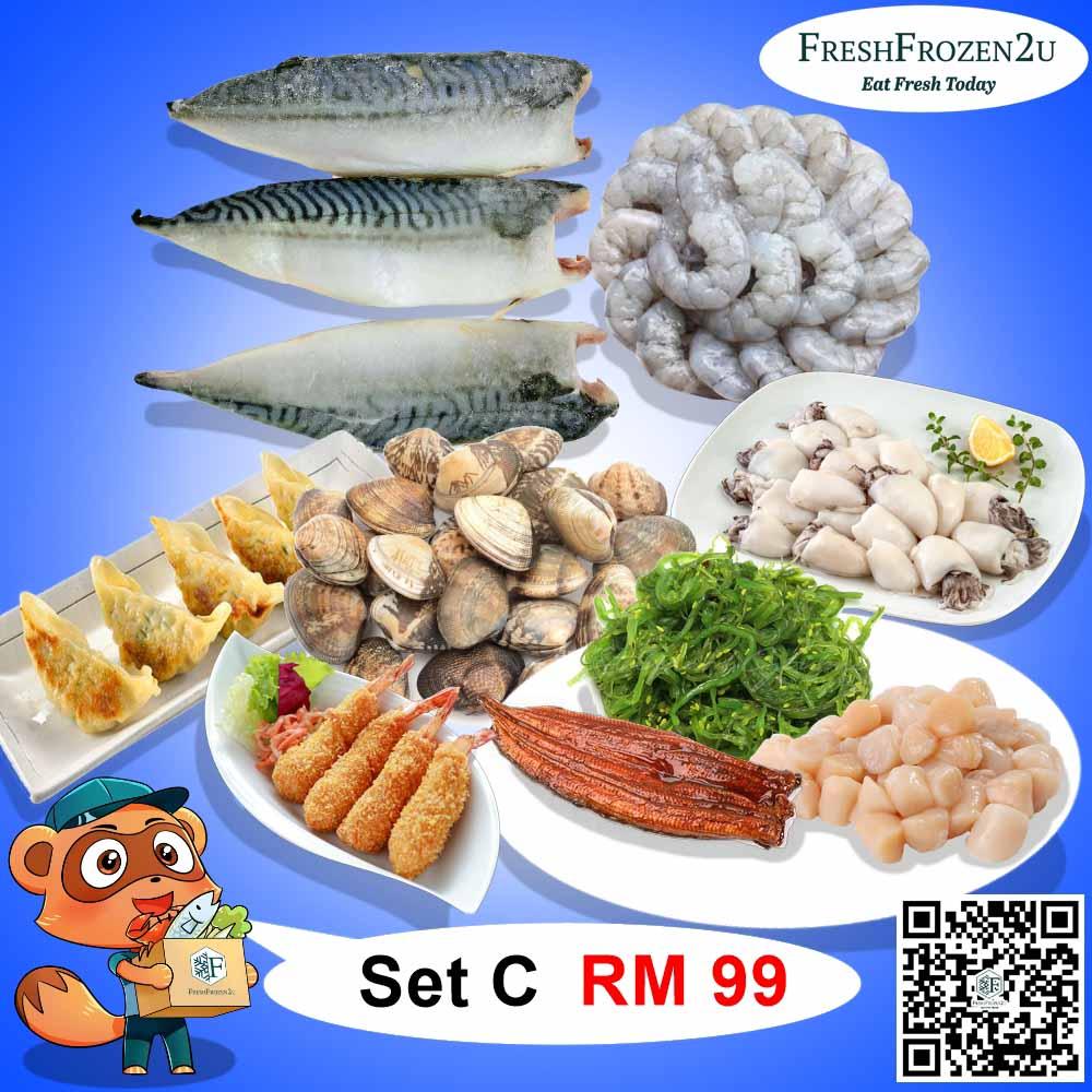 Set C (RM 99)
