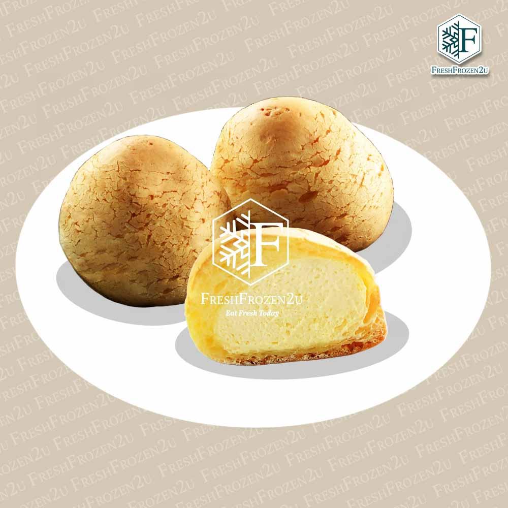 Cake Cream Puff Mochi (Custard) (1 pc) (Halal)