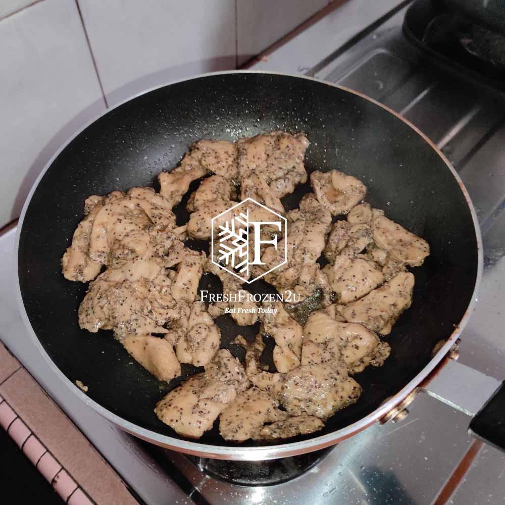 Korean Black Pepper Chicken (300 g)