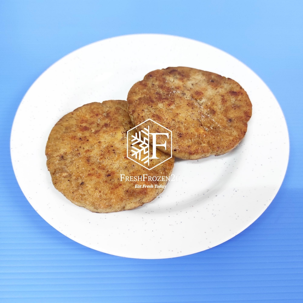 Patty Burger Meat Salmon (2 pcs) 三文鱼肉汉堡