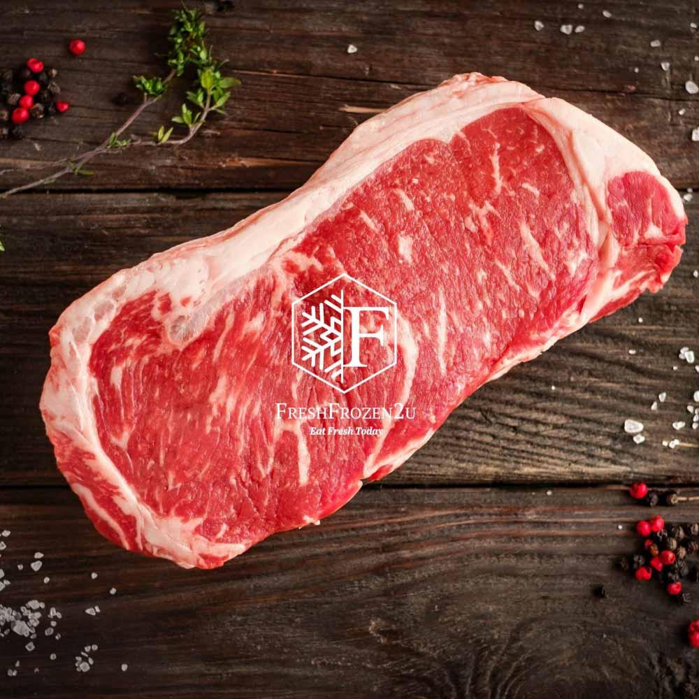 Beef AU Premium Striploin Angus (200-250g)