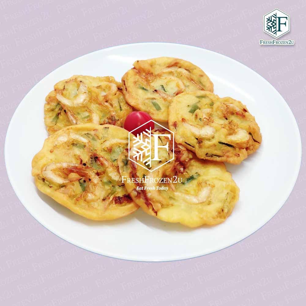 Dumpling Prawn Fritters Yam Cucur Udang (5 pcs) (250 g)