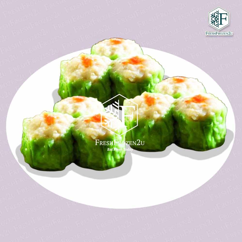 Dumpling Shumai Chicken Spinach (10 pcs) (300 g) 烧卖(鸡肉菠菜)
