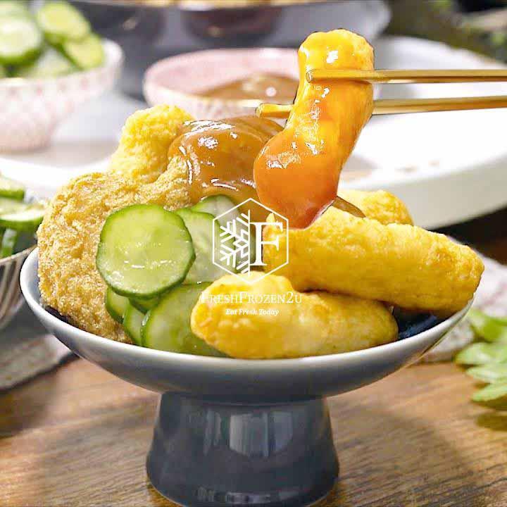 Fish Cake Tempura Taiwan 台湾甜不辣 (250 g)