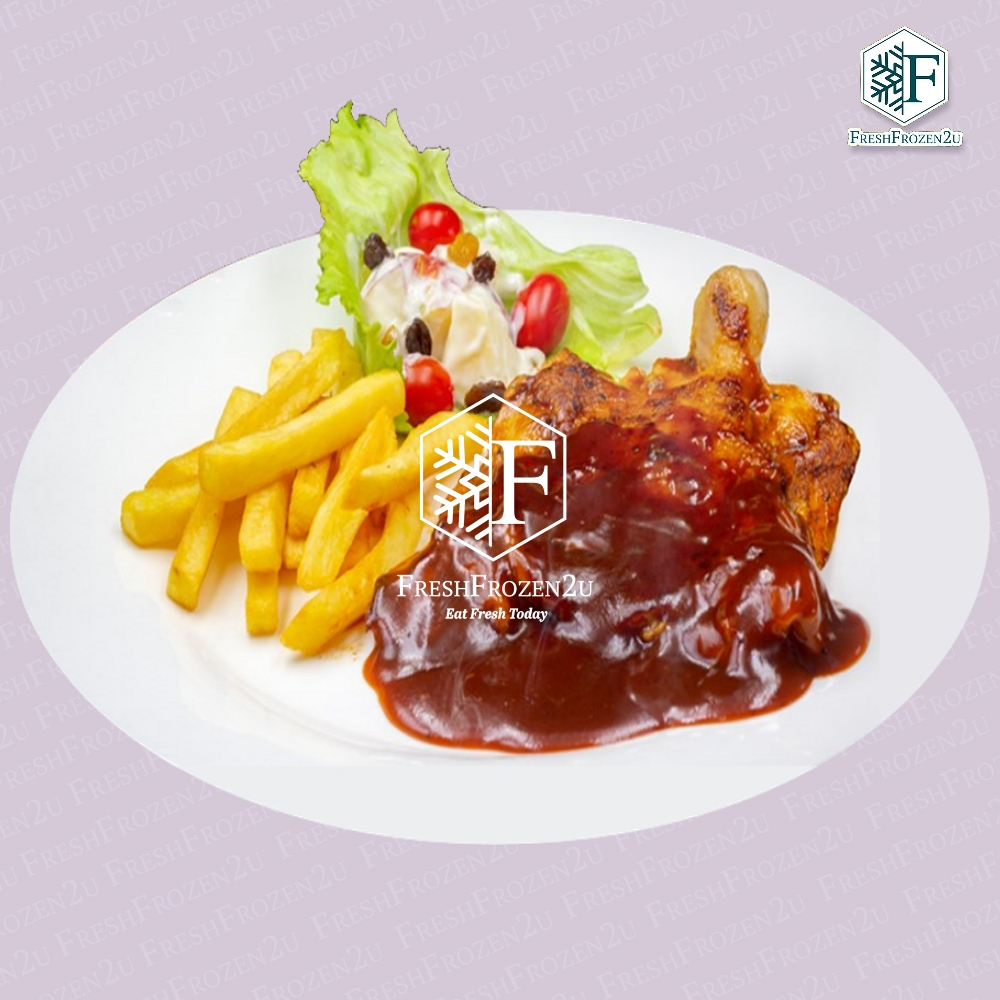 Chicken Chop Barbeque (Halal)
