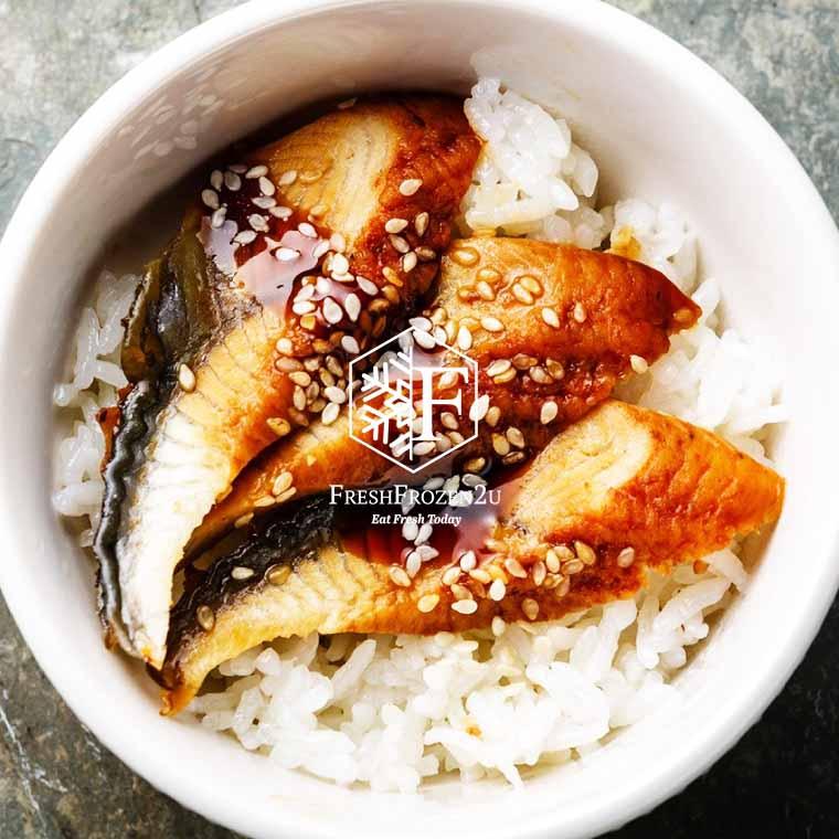 Fish Eel Unagi Slice Roasted (20 pcs) (160 g)